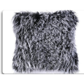 OEM Custom Blue Mongolian Lamb Fur Pillow